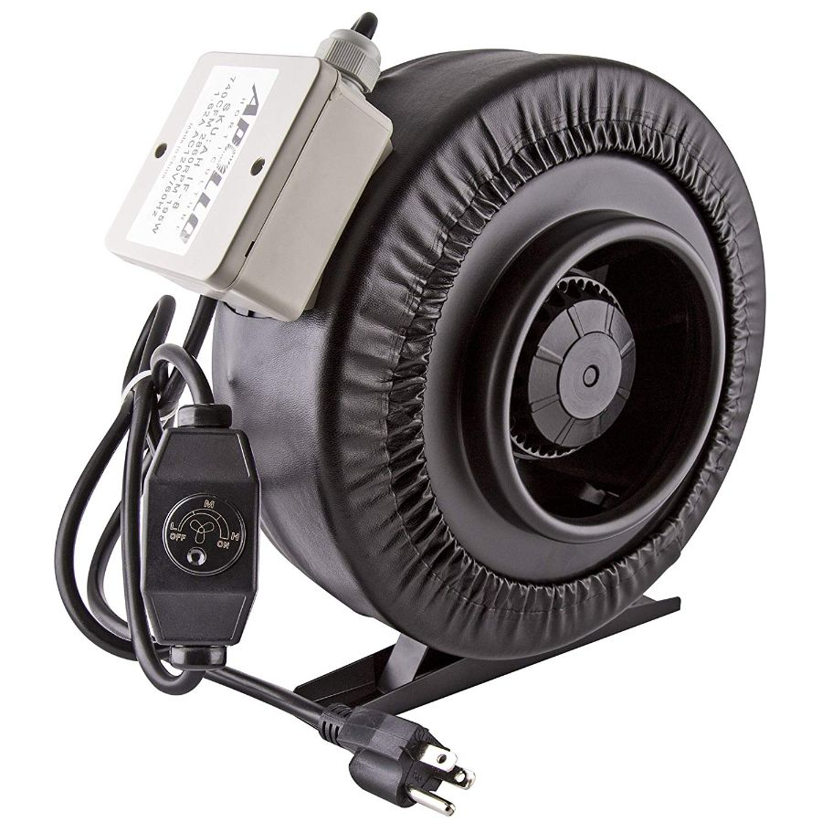 Apollo Horticulture 8 inch Inline Fan