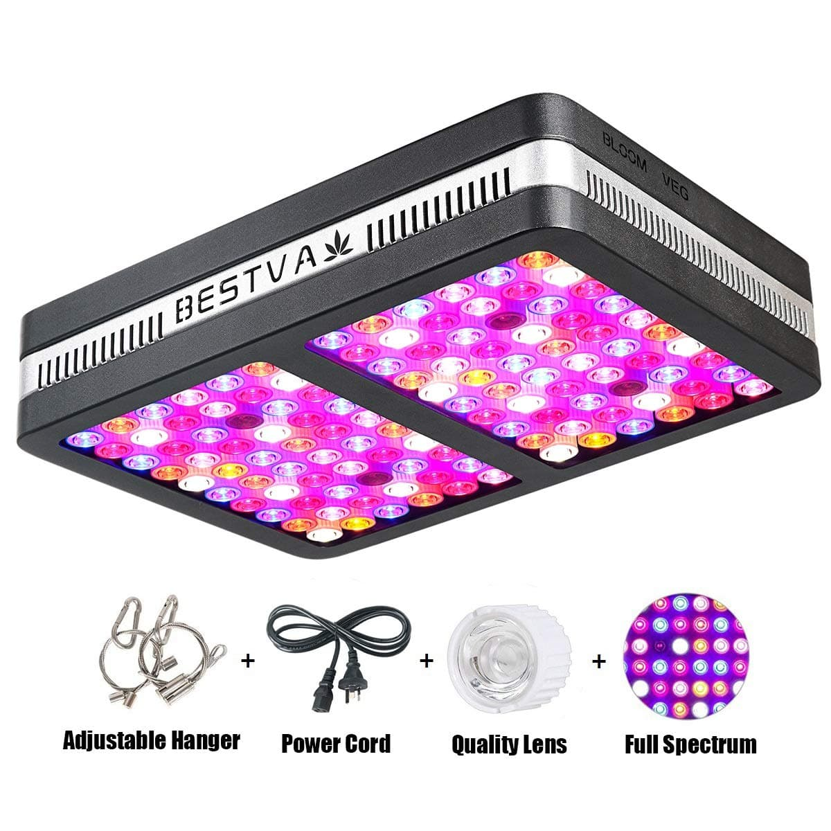 BESTVA Reflector Series 1200 Watt Led Lights