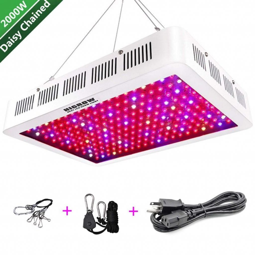 Higrow 2000 grow light - photo 4