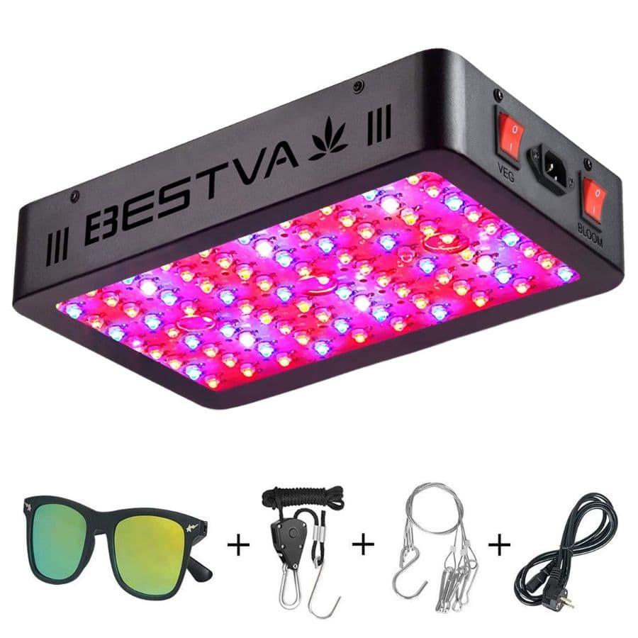 BESTVA Full Spectrum 1000 LED Grow Light