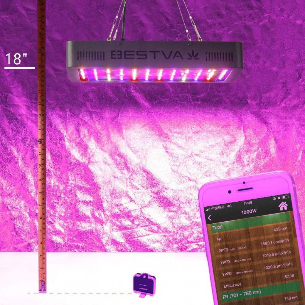 Bestva 1000 LED grow light - photo 4