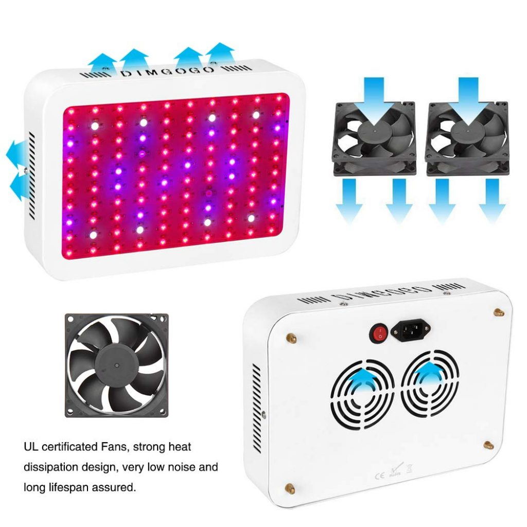 Dimgogo 1000 LED grow light - photo 2
