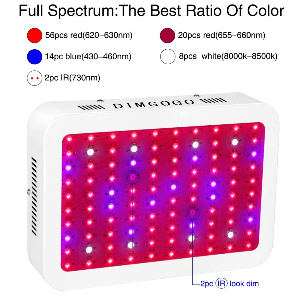 Dimgogo 1000 LED grow light - photo 3