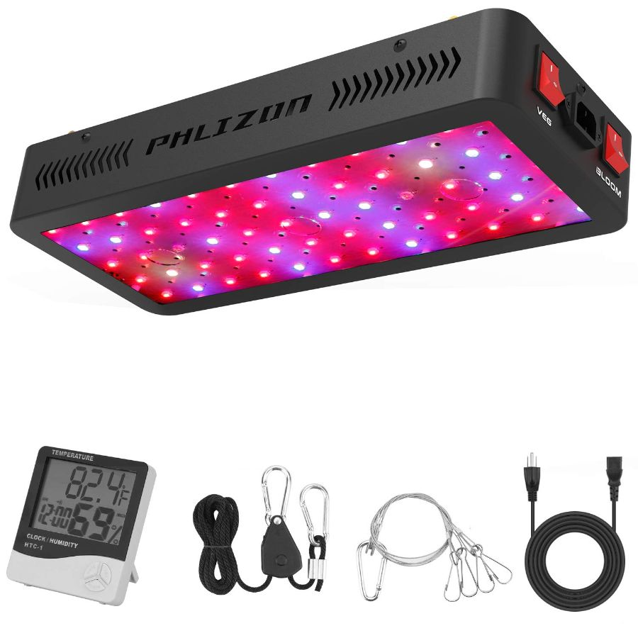 Phlizon Newest 600W LED Light