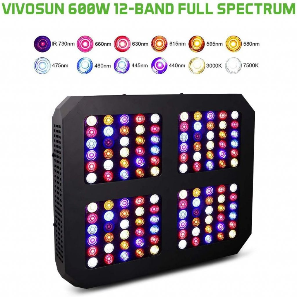 Vivosun 600w LED Light - photo 1