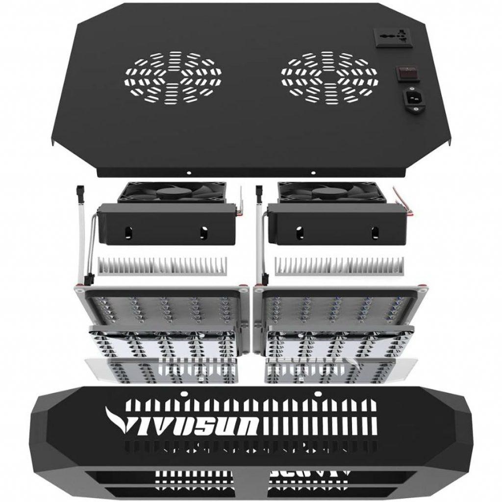 Vivosun 600w LED Light - photo 2