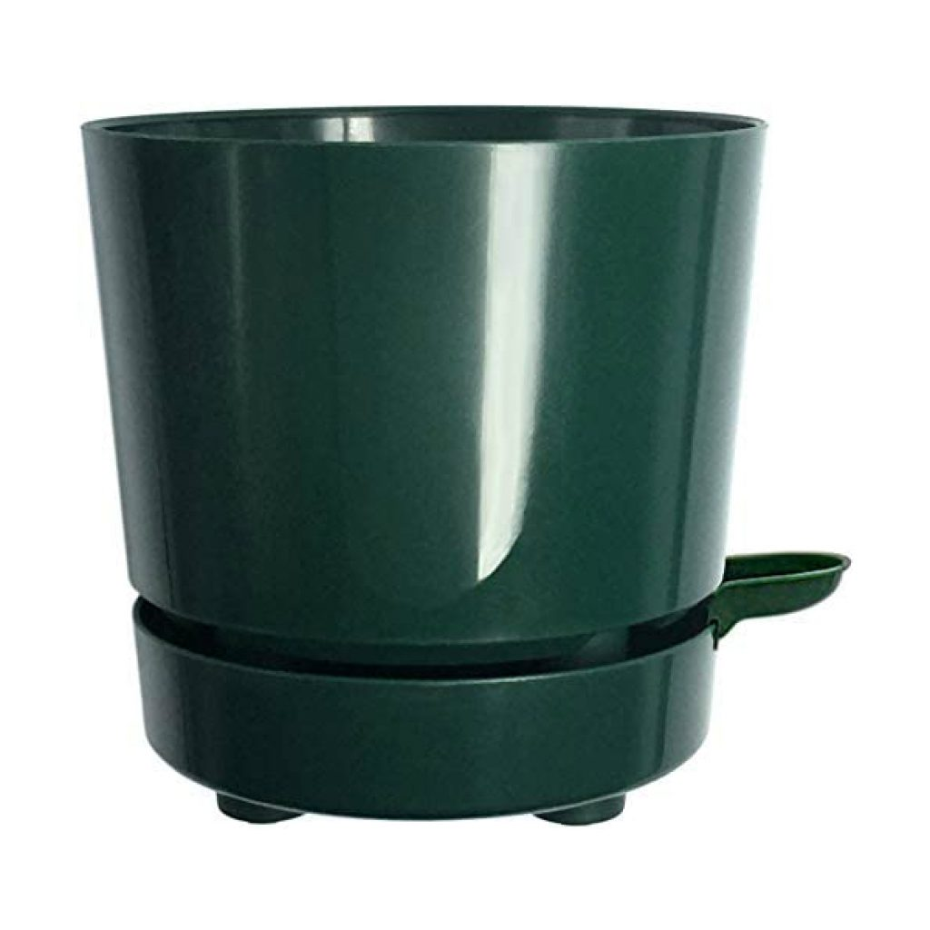 6-Self-Aerating-Self-Watering-High-Drainage-Deep-Reservoir-Round-Planter-Pot-Prevents-Mold-Root-Rot-Soil-Fungus-in-Herbs-Succulents-for-Indoor-Outdoor-Windowsill-Gardens-Green