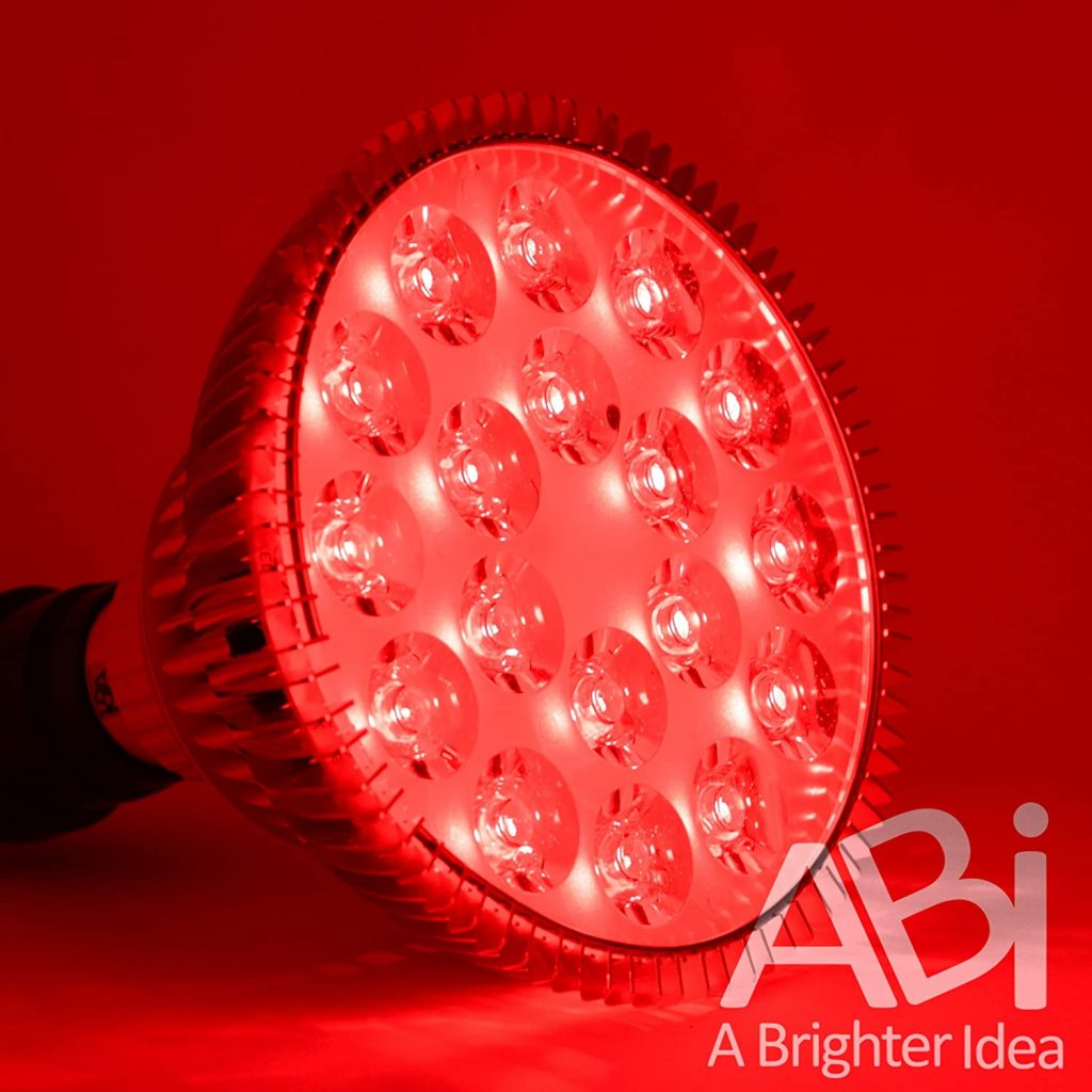 ABI 25W Deep Red 660nm LED Light Bulb Bloom Booster for Flowering, Fruting, and Grow Spectrum Enhancement