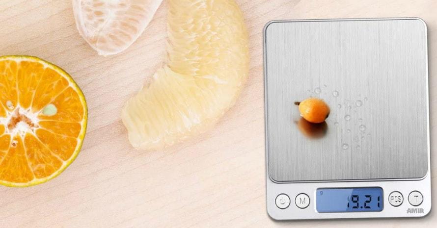 AMIR Digital Kitchen Scale 500g001g