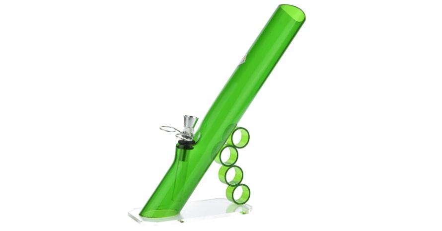 Acrylic Mini Grip Bong Green
