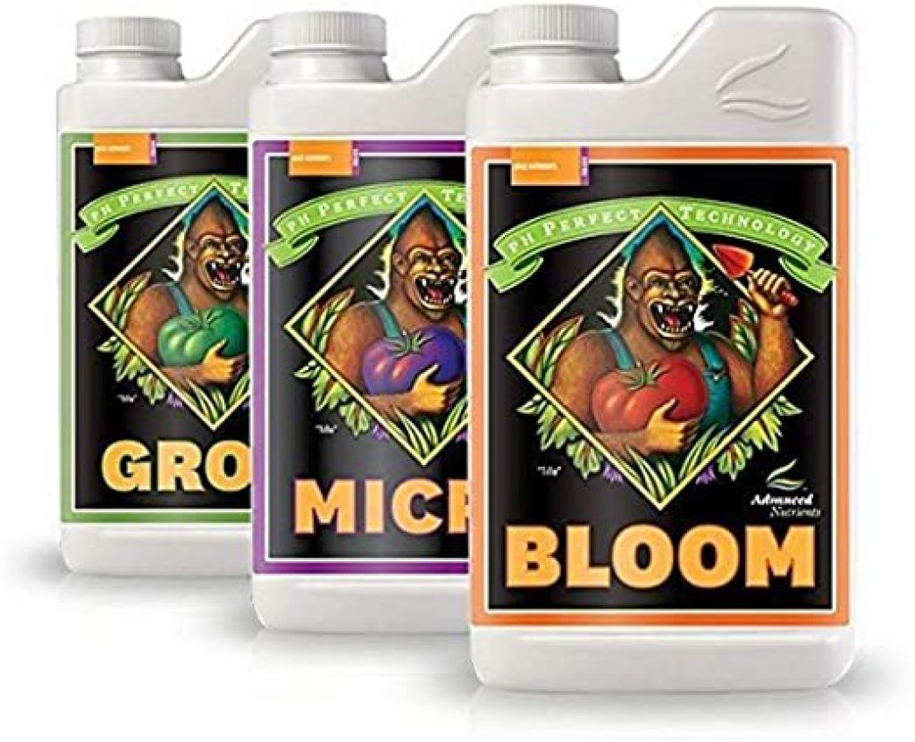 Advanced Nutrients Bloom, Micro & Grow, Pack of 3