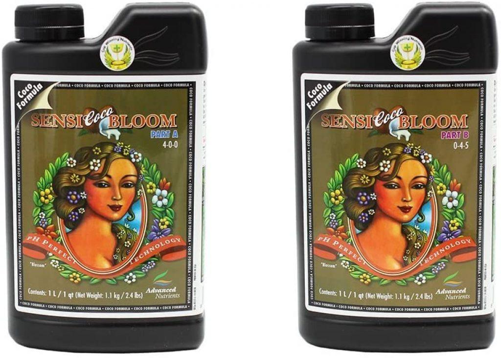 Advanced Nutrients pH Perfect Sensi Bloom Coco Part A+B Soil Amendments, 1 L
