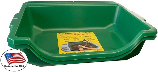 Argee RG155-2 Table-Top Gardener Portable Potting Tray
