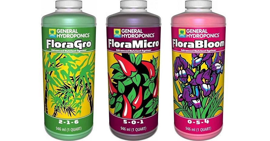 General Hydroponics Flora Grow Fertilizer