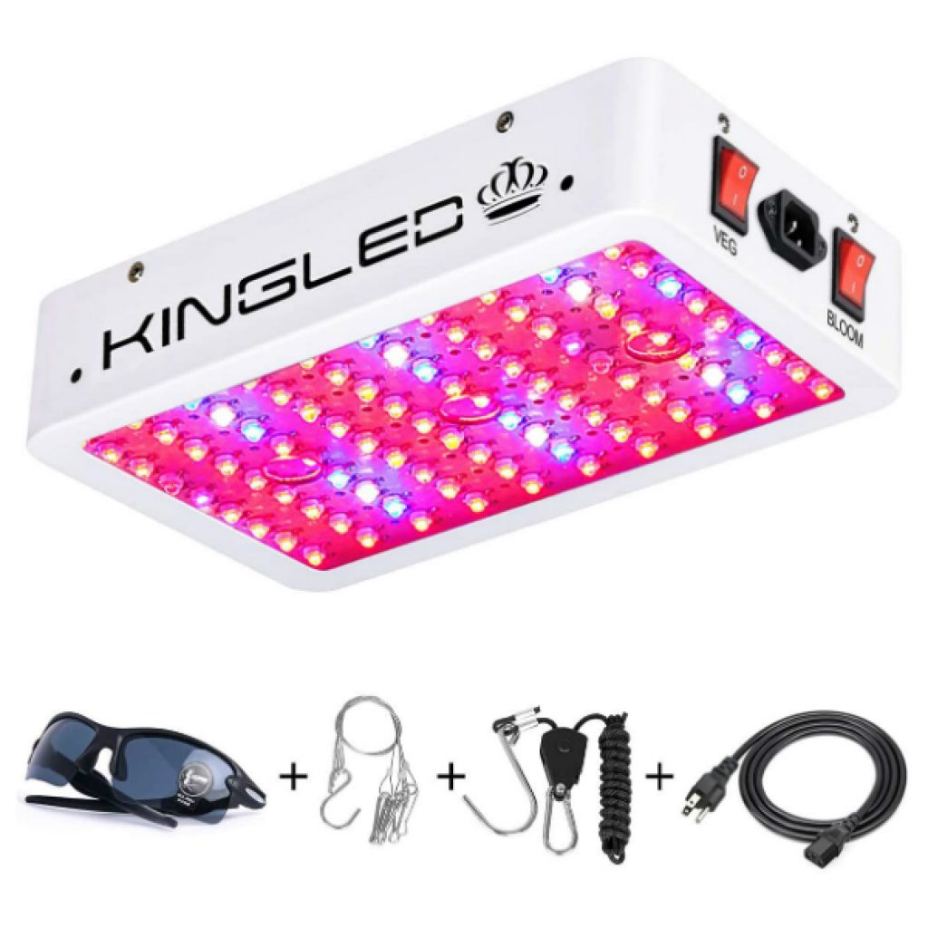 King-Plus-1000w-LED-Grow-Light-Double-Chips-Full-Spectrum-with-UVIR-for-Greenhouse-Indoor-Plant-Veg-and-Flower