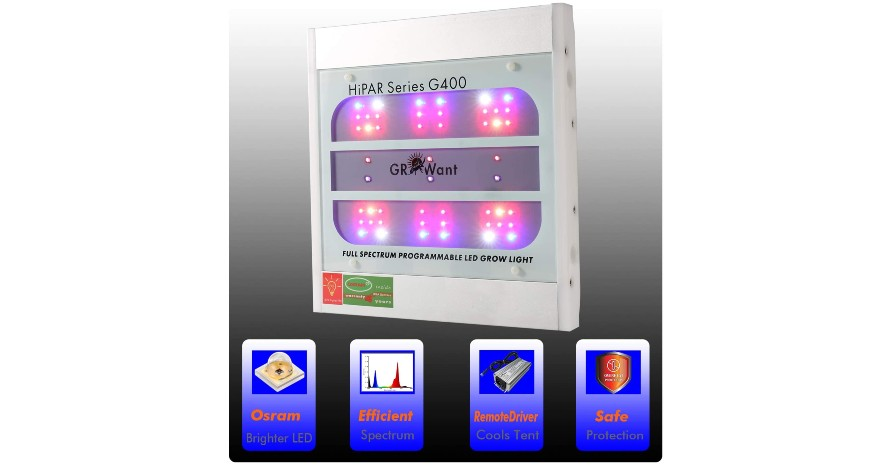 LED Grow Lights Full Spectrum with UV and IR