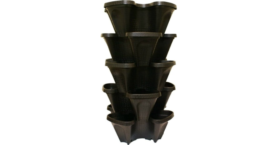 Large 5 Tier Vertical Garden Tower