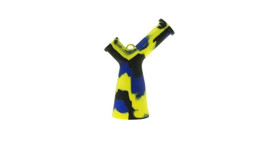 Mr Y Beaker Bong Yellow,blue,black