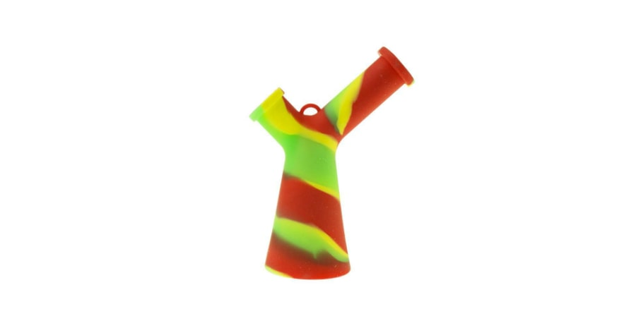 Mr Y Beaker bong red green yellow