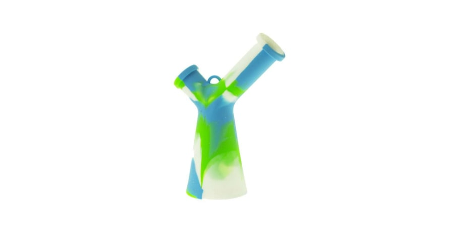 Mr Y Beaker bong white,blue, green