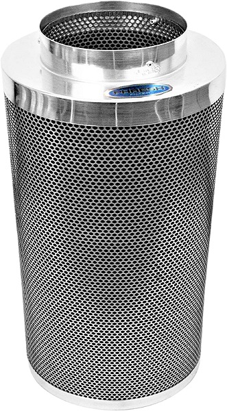 "Phresh HGC701015 Carbon Filter For The Cleanest Air Around 8"" x 24"" - 750 CFM Silver"