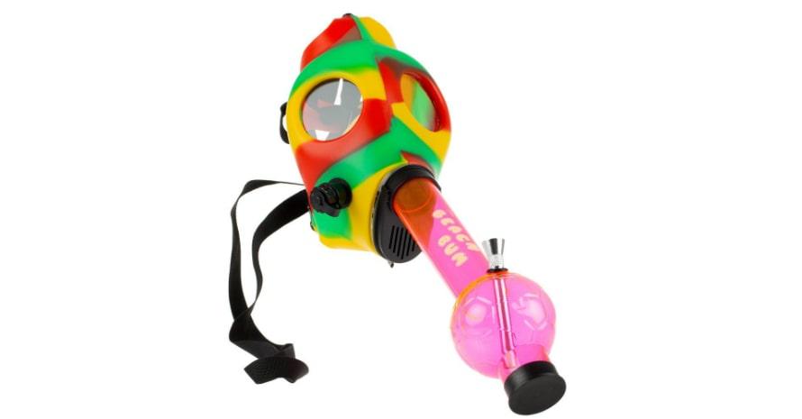 The Beach Bum Gas Mask Bong