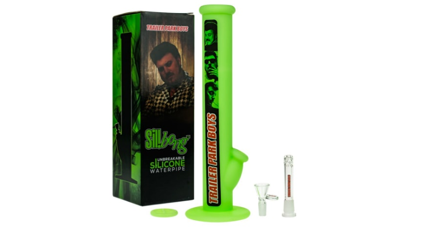 Unbreakable Park Boys silicone bong