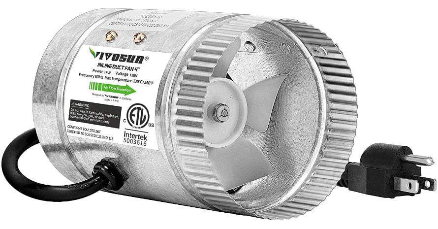 VIVOSUN 4 inch Inline Duct Fan
