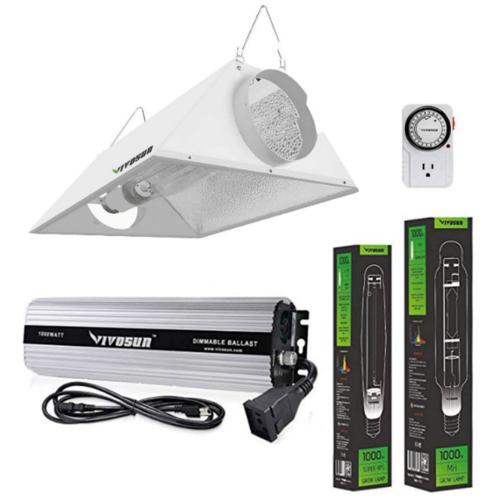 VIVOSUN-Hydroponic-1000-Watt-HPS-MH-Grow-Light-Air-Cooled-Reflector-Kit-Easy-to-Set-up-High-Stability-Compatibility-Enhanced-Version