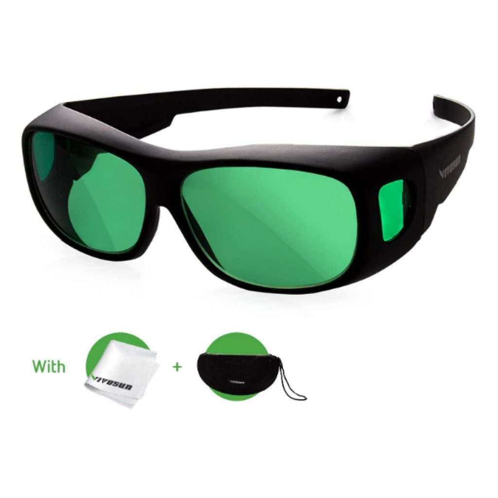 VIVOSUN-Indoor-Hydroponics-LED-Grow-Room-Glasses-with-Glasses-Case