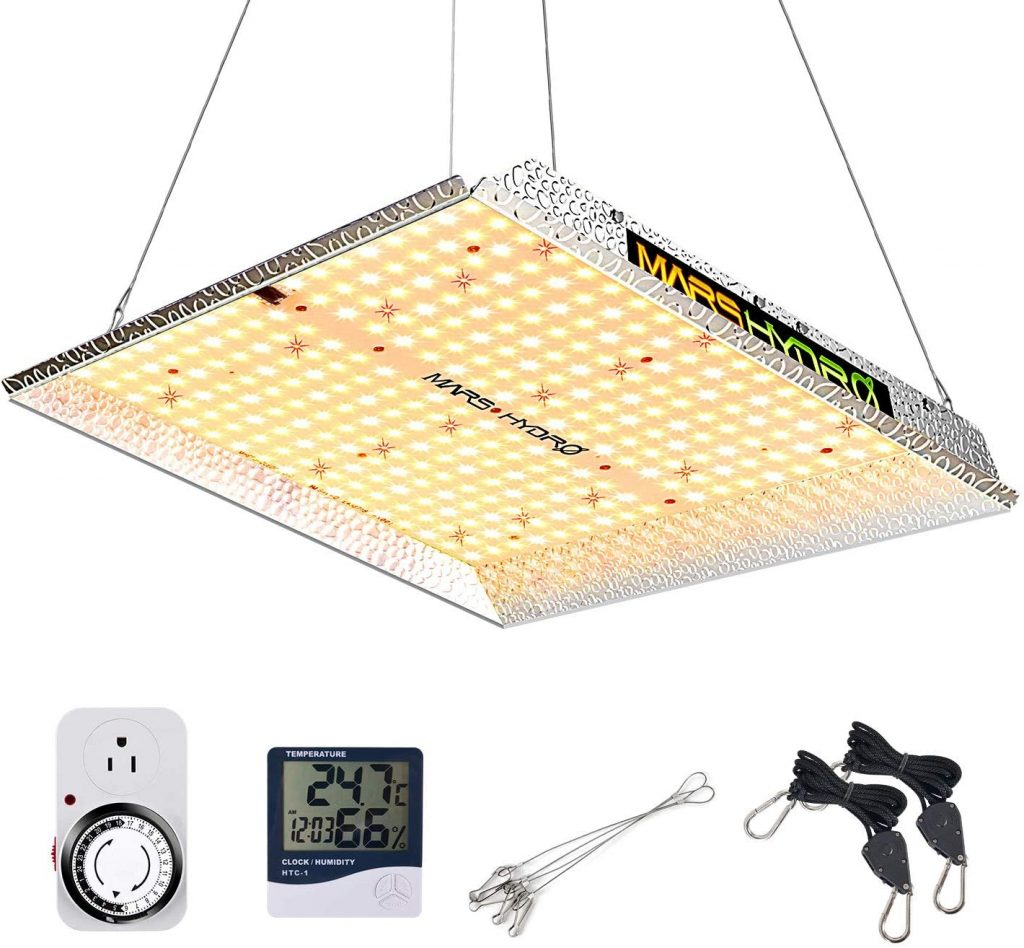 MARS HYDRO TS 1000W Led Grow Light 3x3ft Sunlike Full Spectrum IR Grow Lamps for Indoor Plant Commercial LED Grow Hydroponic Growing Light
