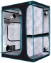 OPULENT SYSTEMS 2-in-1 Grow Tent 60x48x80 Mylar Reflective Water-Resister Hydroponic Growing Tent with Observation Window