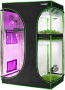 VIVOSUN 2-in-1 Grow Tent for Indoor Hydroponic Growing System