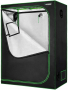 VIVOSUN 48 x24 x60 Mylar Hydroponic Grow Tent with Observation Window and Floor Tray for Indoor Plant Growing